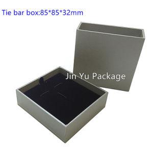 Jy-Jb57 Cuero Papel personalizado Regalo Joyeria Embalaje del Anillo Pendientes Collar Reloj Clip gemelos Caja