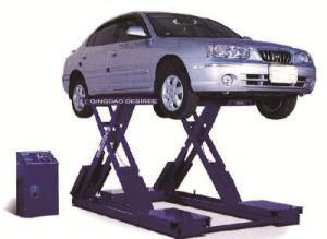 Aparcamiento de tijera hidráulico de elevación de coche