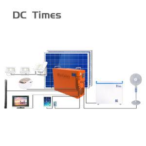 12V 1kwh nouveau hors-d'énergie solaire renouvelable de la grille d'application du système d'accueil de 3 ans de garantie