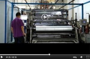 機械使用のためのLLDPEのストレッチ・フィルムのジャンボロール