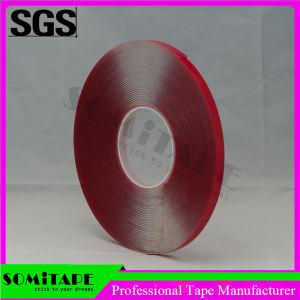 Somi Sh368-15 Cintas de espuma acrílica transparente de alta densidad de cinta adhesiva