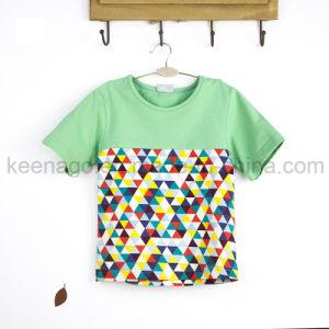 Mode d'enfants des ménages Kids col rond populaires vêtements de bébé