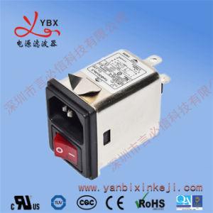 Fabricant 115V/250V 6A Prise IEC 320 EMC Bruit avec l'interrupteur du filtre EMI