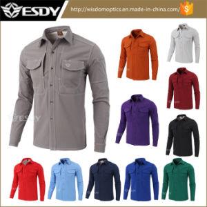 Het Overhemd.Het Overhemd Van De Openlucht Van De Sporten Van Esdy Warme