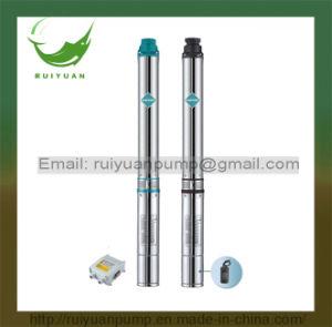 潅漑3のため 1.5HP 1100Wの高品質の銅線の深い井戸の浸水許容ポンプ(3SD2.5/20-1.1KW)
