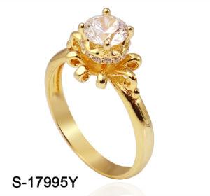 Nuevo diseño de joyas de moda mayorista 925 Joyería de Plata Anillo de zirconio cúbico para la boda