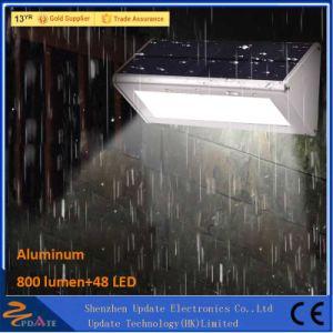 La aleación de aluminio resistente al agua un sensor de movimiento de las luces de pared LED de 48