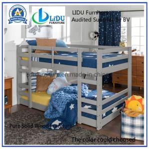 La moderna cama de madera muebles niños cama litera para niños de madera de pino macizo con alta calidad