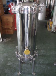Filtro de água em aço inoxidável Industrial Multi filtro de cartucho