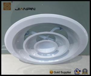 Grille d'air d'alimentation de l'aluminium rond diffuseur de plafond