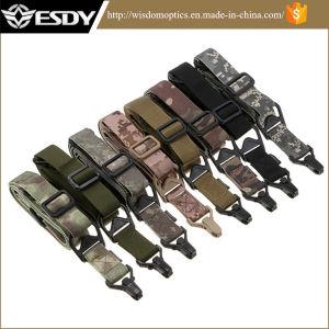 8 цветов тактические военные регулируемая винтовка Airsoft две точки с помощью строп