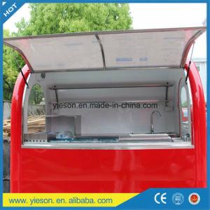 Yieson Hersteller kundenspezifischer schneller mobiler Nahrungsmittelküche-Schlussteil mit Cer