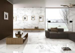Com Vidro polido de azulejos do piso de cerâmica de porcelana vitrificada