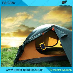 Многофункциональный портативный телефон солнечной кемпинг лампа зарядки аккумуляторной батареи