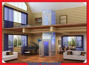 Конкретные и кирпичное здание вала для подъема