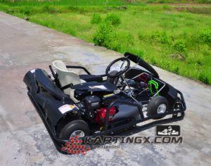 De nieuwe Volwassenen die van het Go-kart van de Afwijking van Karting 200cc Go-kart voor Verkoop rennen