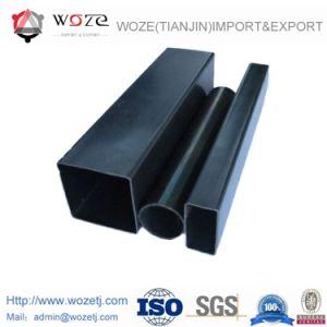 Q195-Q345構築のERWによって溶接される穏やかな鋼鉄黒の円形の管