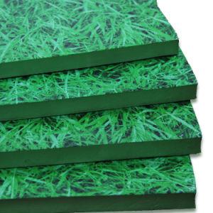 Die Gras-preiswerten blockierenschaumgummi-Matten