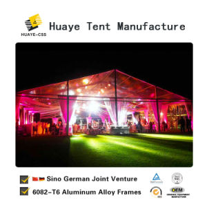 Piscina de alta qualidade do teto transparente de PVC Marquee a tenda de casamento