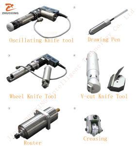 Cortador de cuchilla vibrante fabricante directo de 2500mm*1600mm bienes al aire libre