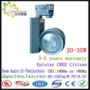 LED antirreflexo de sabugo Tracklight, 30W LED SABUGO sem oscilações Tracklight condutor