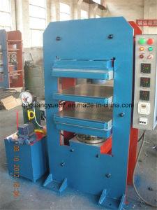 Placa de borracha totalmente automático Hot Pressione a máquina de cura de borracha pressione