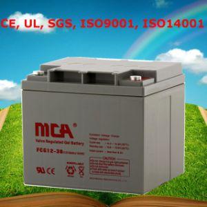 Bueno Calidad de la célula de plomo gel de almacenamiento de la batería 12V38ah
