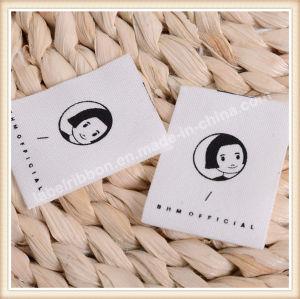 Nombre de la etiqueta tejida ropa personalizada ropa de etiqueta etiquetas tejidas
