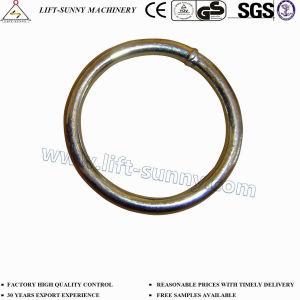 Acciaio inossidabile del acciaio al carbonio saldato intorno all'anello del cerchio dell'anello