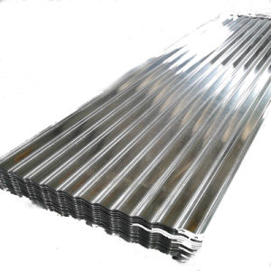 La norme ASTM A653m de long Span fer galvanisé Feuille de toiture en métal
