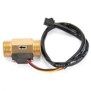 1-30lpm USC-HS21ti Sensor de flujo de agua de la turbina Ce 3.6-26.4V Isentrol