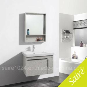 Banho de aço inoxidável Armário Espelho moderno e elegante Bthroom vaidade