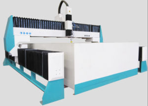 Foam Rubber/Marble Medallion/Copper Plate/Stainless Steel/Wood를 위한 CNC Water Jet Cutting Machine