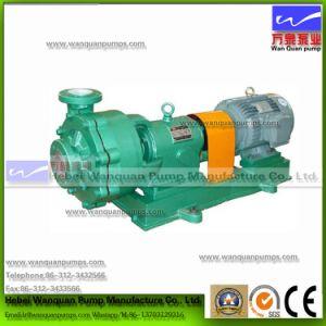 Tipo Uhb Fluorin resistente a la abrasión bomba centrífuga de mortero de plástico