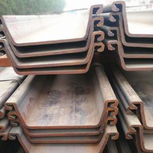 Laminado en Caliente de diferentes tamaños de buena calidad tipo Z U Hoja de acero Larssen montón para la venta