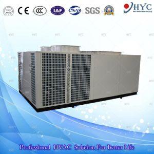 De groene Airconditioner van de Eenheid van het Dak van de Airconditioner van de Zaal Bovenkant Verpakte