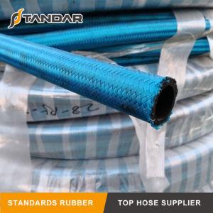 SAE100 R5の織物は油圧ゴム製ホースを覆った
