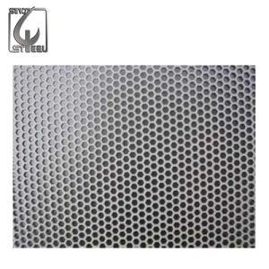 strato perforato dell'acciaio inossidabile del certificato di prova del laminatoio 5X10