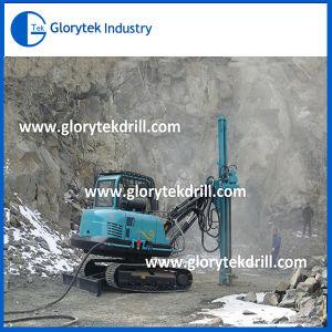 Piattaforma di produzione estraente del grande cingolo di prezzi dell'impianto di perforazione di trivello del foro di brillamento
