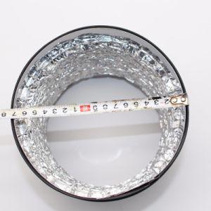 工場によって非絶縁されるアルミホイルは円コネクターアルミニウムHVACのダクティングと合う二重層の空気を厚くする
