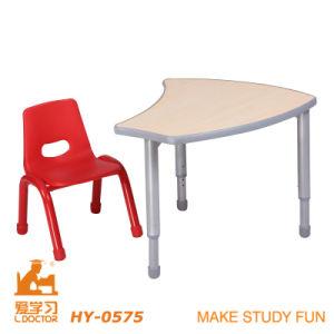 熱い販売の子供の調査の家具の表および椅子