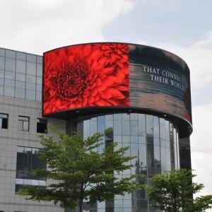 P10 LED de plein air électronique affichage de panneau mural pour TV