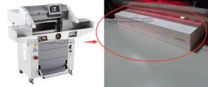 cortadora automática del papel del libro de la talla de programa de 520m m 560m m de la guillotina 670m m hidráulica A3 A4 del control