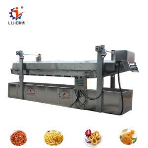 Máquina de hacer automático de patatas fritas chips de plátano de la máquina de fritura