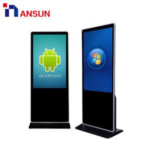 Publicidad suelo ganar OS Android / Pantalla táctil de señalización digital interactiva