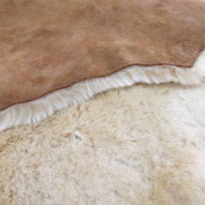 方法クリの羊皮の暖かい女性か女性Winter Caps