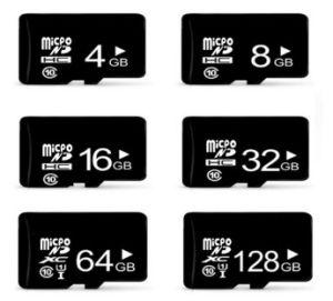 Cartão micro SD/TF Card / Cartão de Memória / Memory Stick/SD