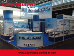 Aluminio Personalizado Modular de Soporte de Exhibición de Feria Cabina de Exposiciones