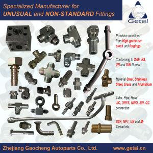 Tube-Pipe hidráulicas, conexões de mangueira pneumática de aço inoxidável, aço, alumínio e latão