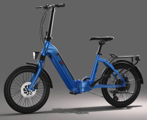 Bicicleta eléctrica asequible Batería de litio bicicleta con Motor sin escobillas Hub
